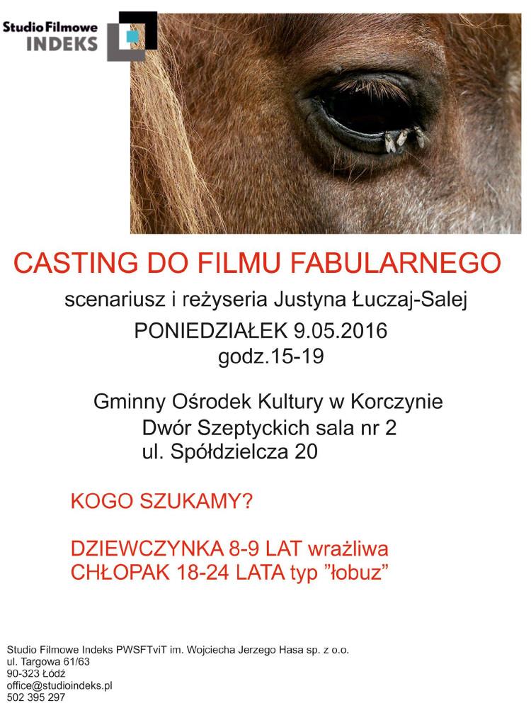 Casting w Korczynie