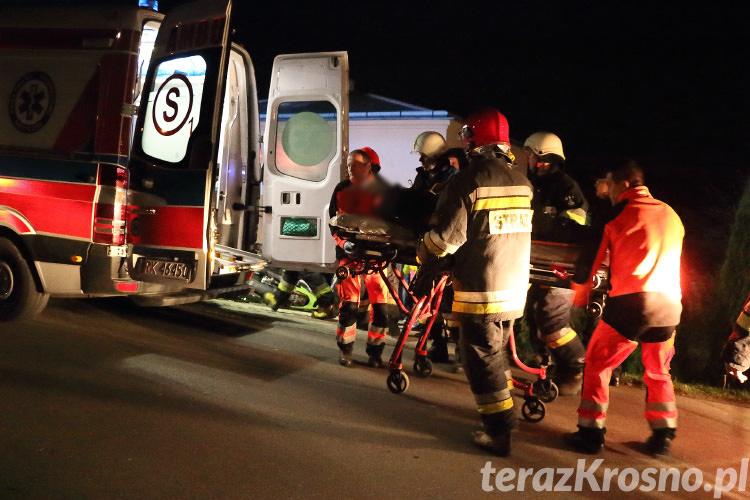 Wypadek motocyklisty w Kopytowej
