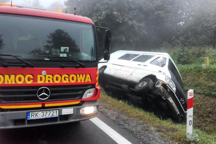Wypadek Wola Komborska