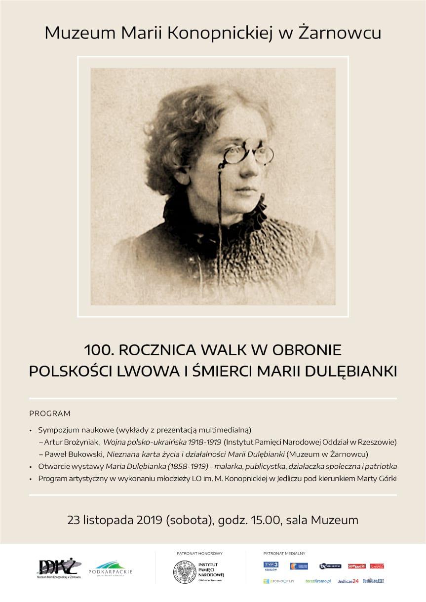 100. Rocznica Walk w Obronie Polskości Lwowa i śmierci Marii Dulębianki