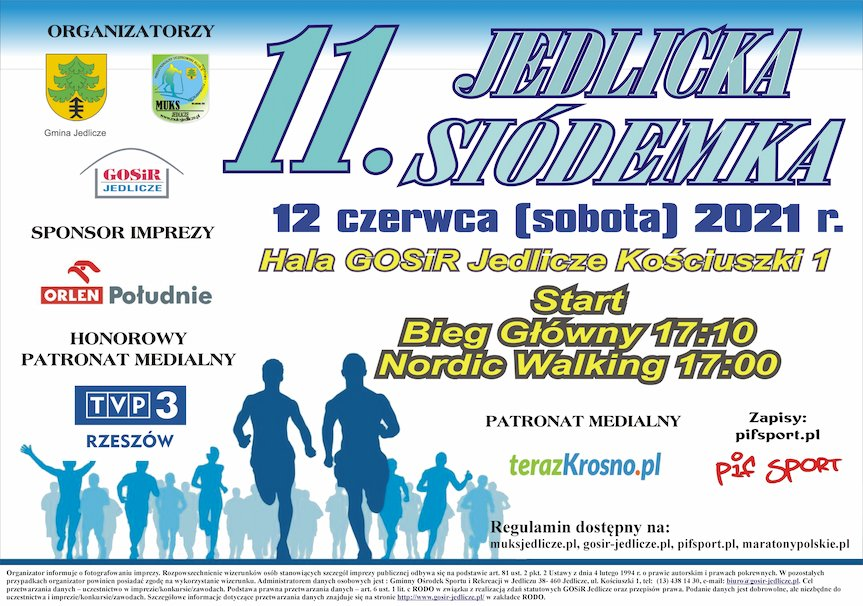 "11 Ogólnopolski Bieg Uliczny ""Jedlicka Siódemka"""