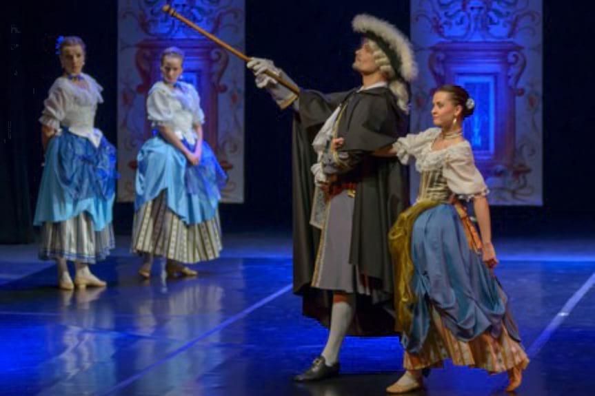 "Balet Dworski Cracovia Danza, spektakl ""Balet o kawie"""