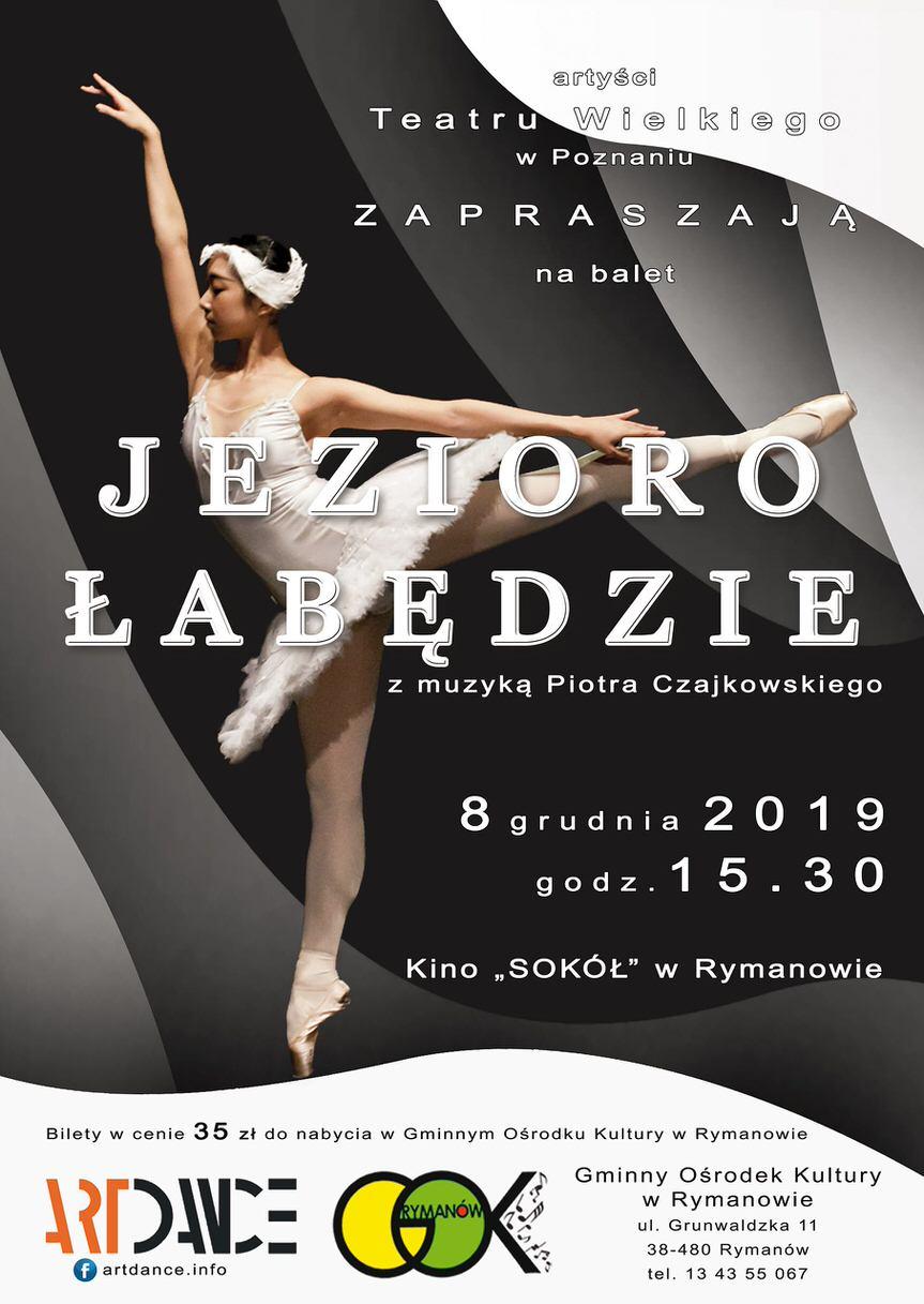 """Balet """"Jezioro Łabędzie"""""""