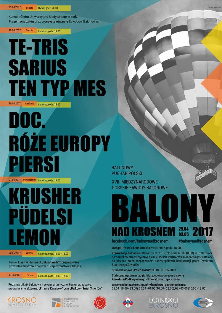 Balony nad Krosnem 2017
