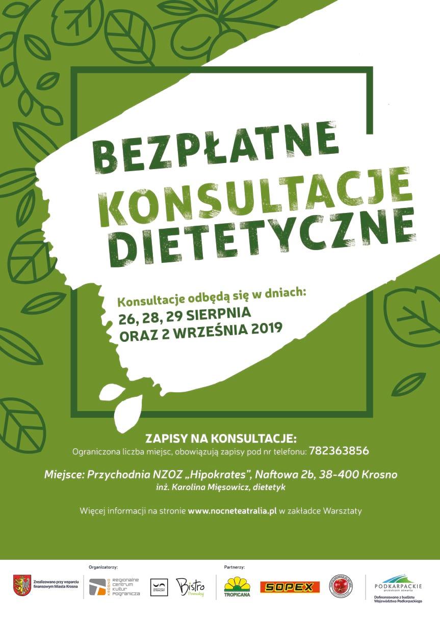 Bezpłatne konsultacje dietetyczne