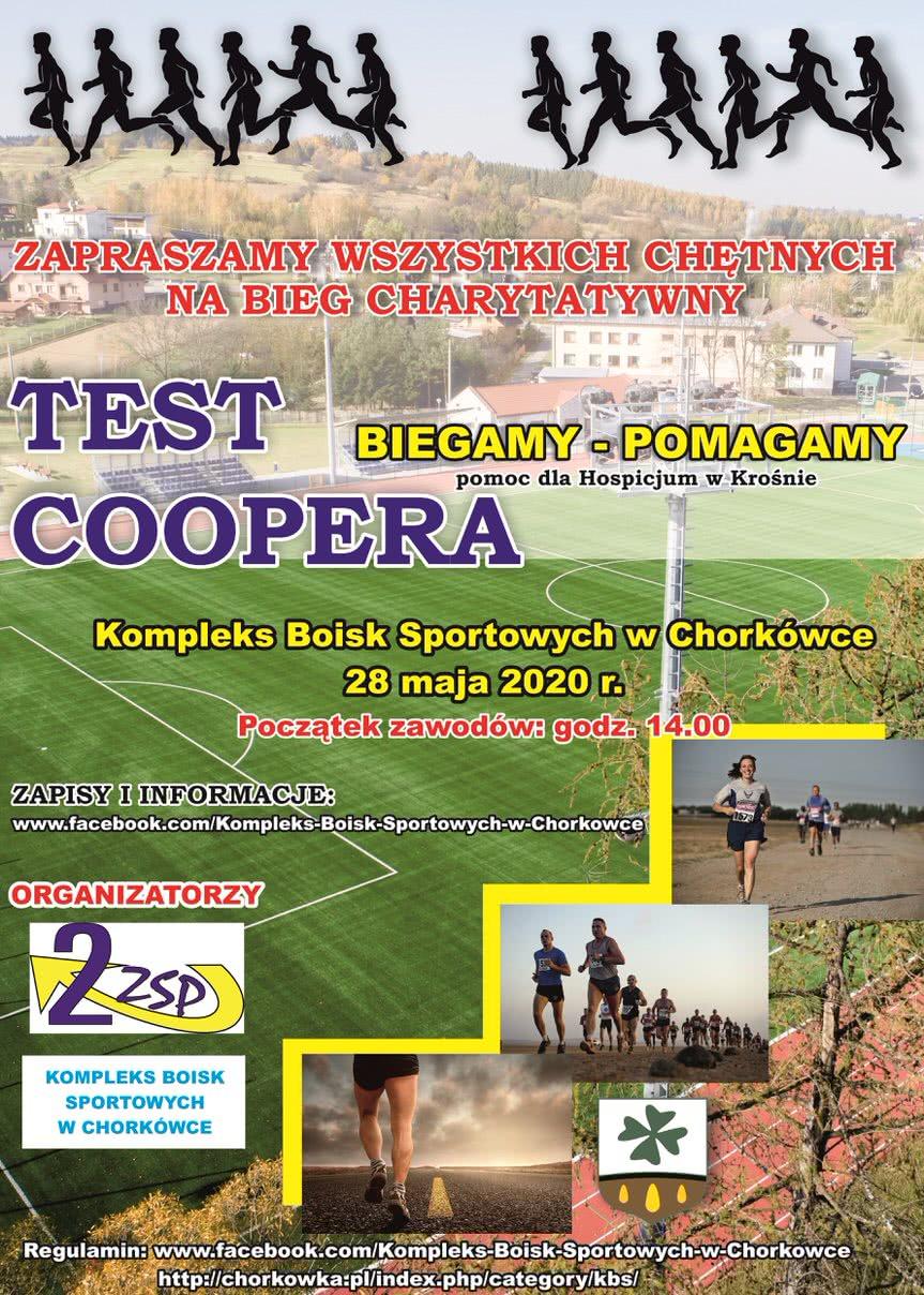 Bieg Charytatywny Test Coopera w Chorkówce