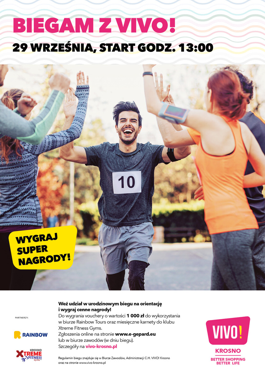 Bieg na orientację Biegam z VIVO!