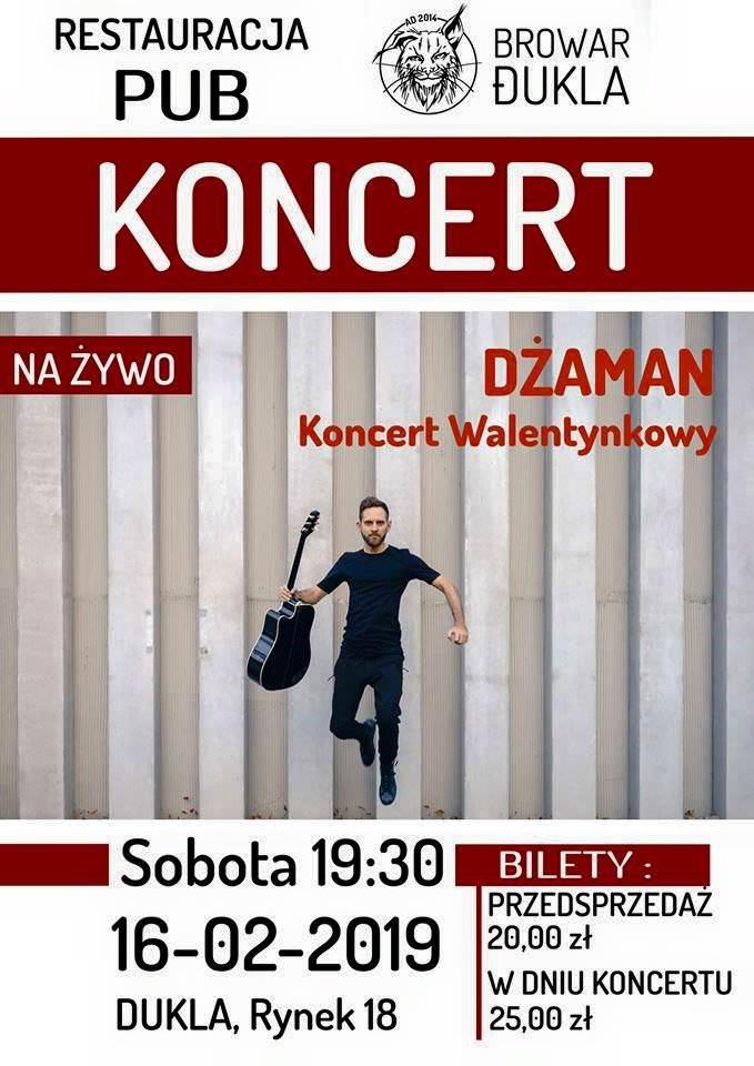 Dżaman - Koncert Walentynkowy w Dukli