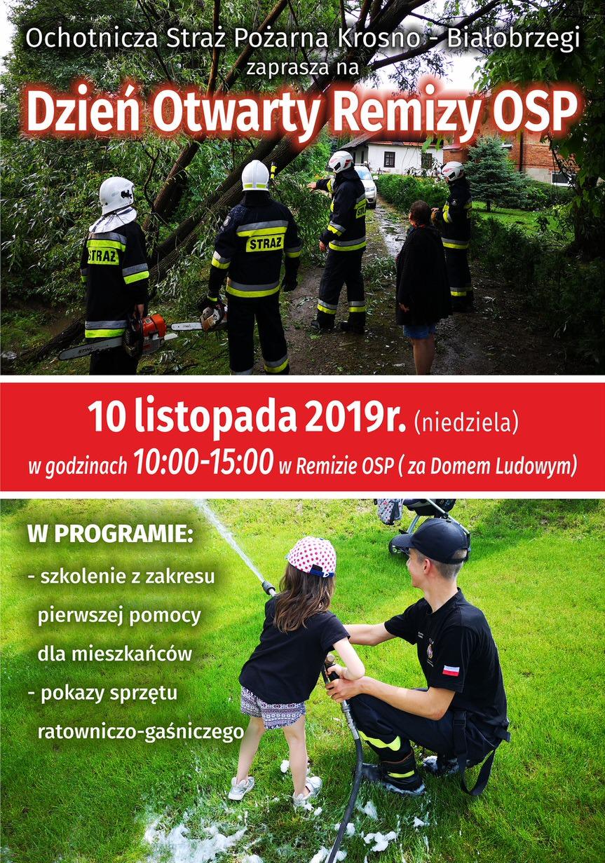 Dzień Otwarty Remizy OSP Krosno - Białobrzegi