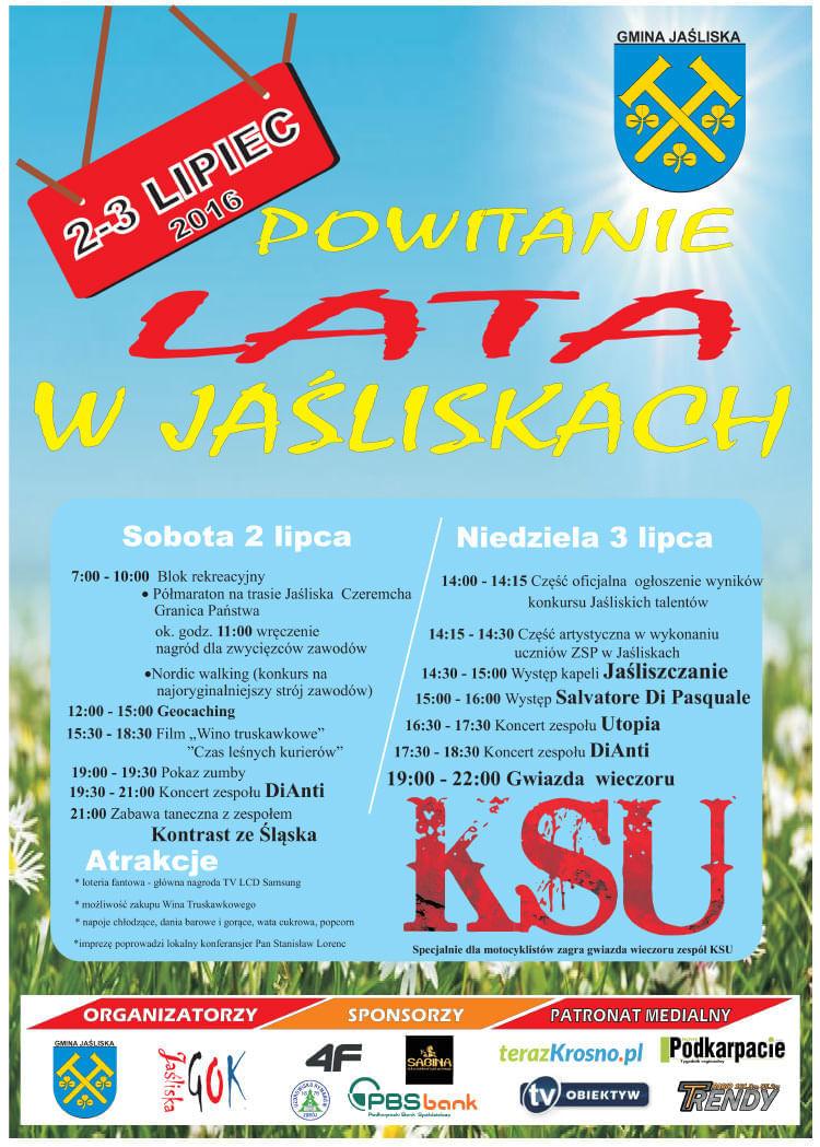 Powitanie lata w Jaśliskach 2016