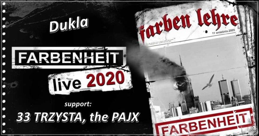 Farben Lehre + the Pajx, 33 Trzysta
