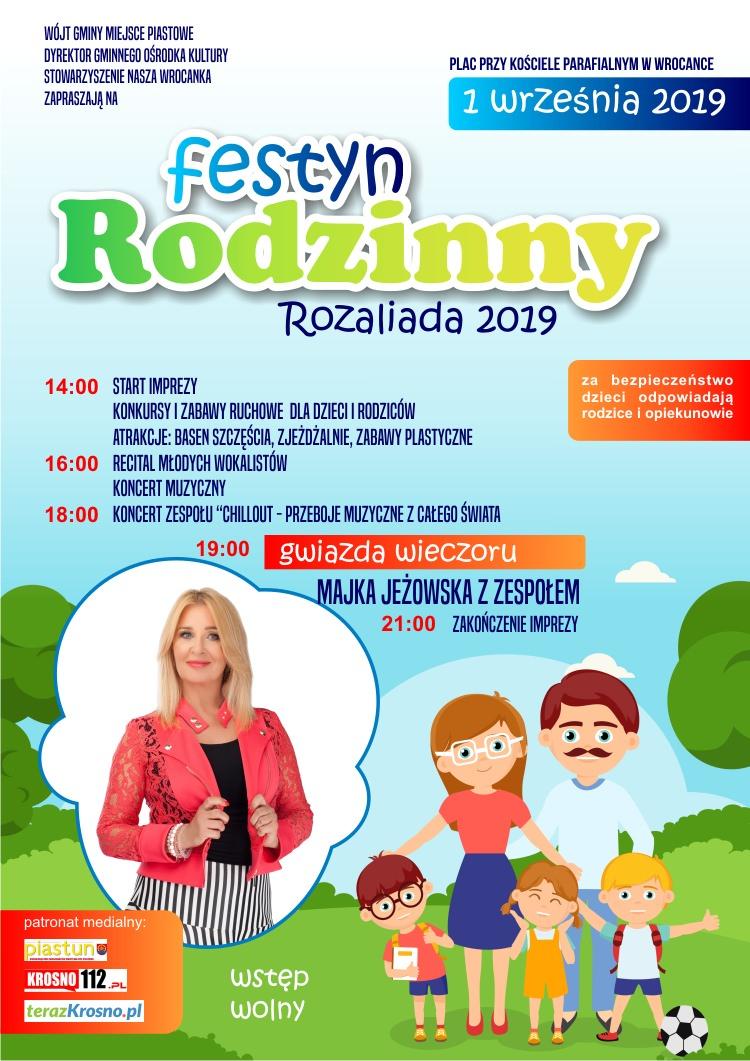 Festyn Rodzinny Rozaliada 2019