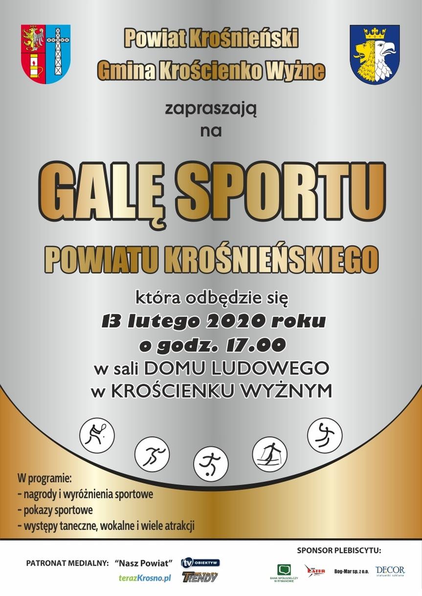 Gala Sportu Powiatu Krośnieńskiego