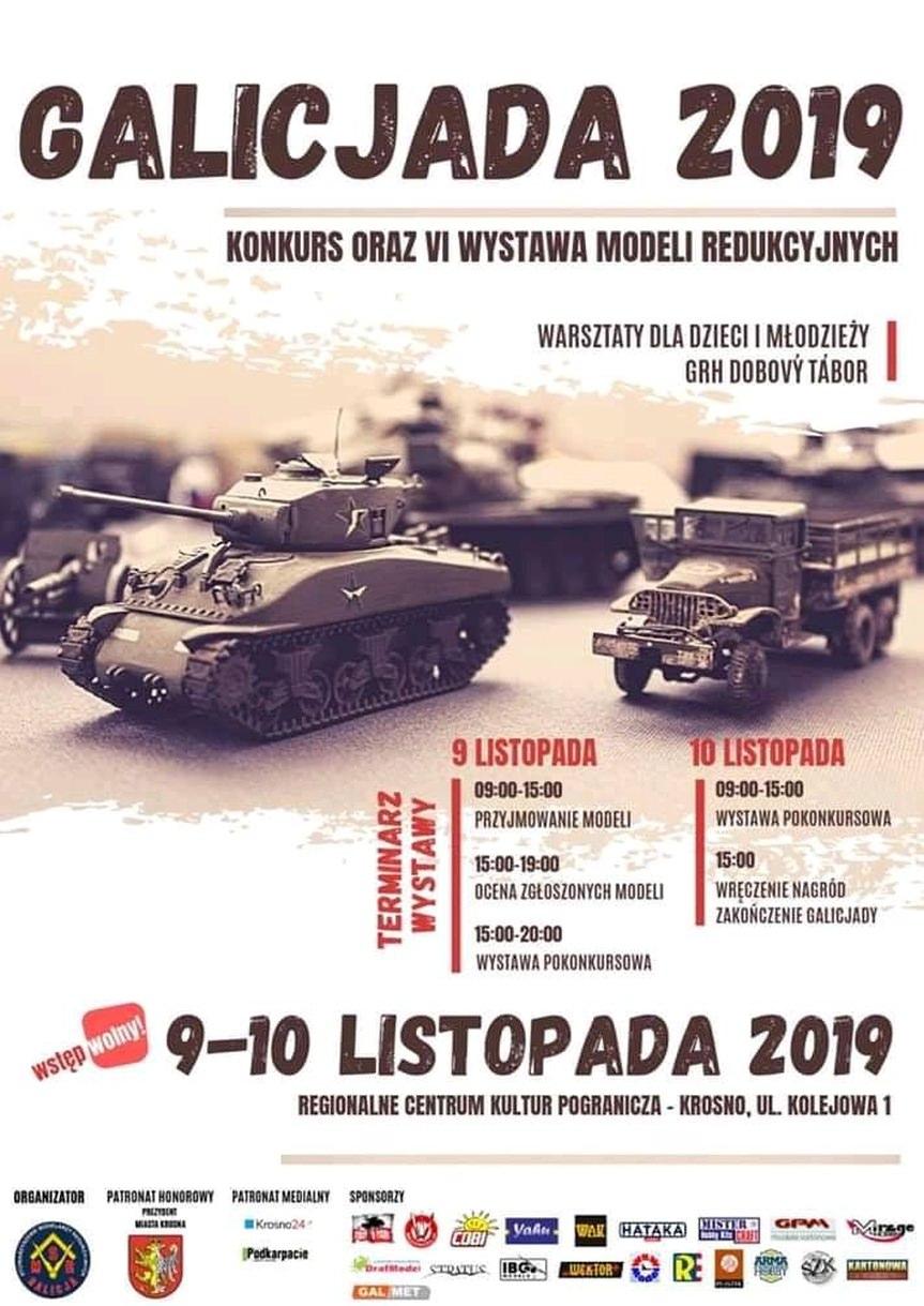 Galicjada 2019 - konkurs i wystawa modeli redukcyjnych