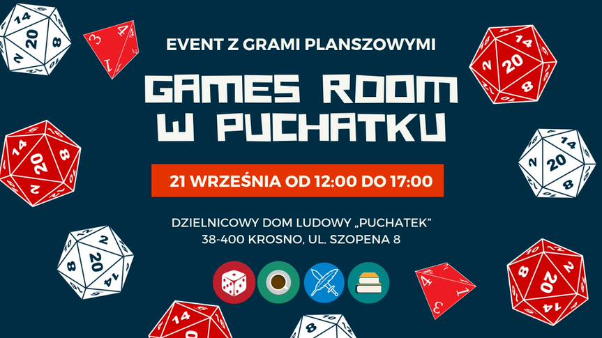 Games Room w Puchatku