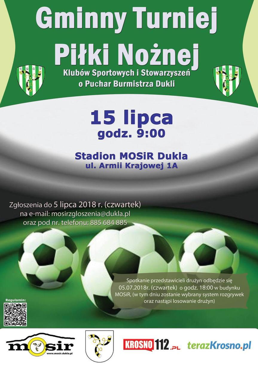 Gminny Turniej Piłki Nożnej o Puchar Burmistrza Dukli