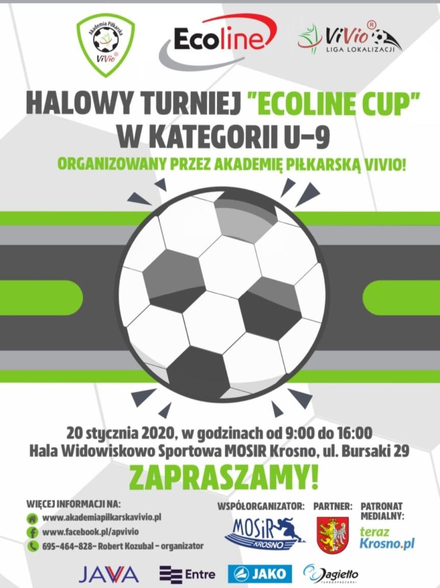 """Halowy Turniej """"Ecoline CUP"""" U-9"""