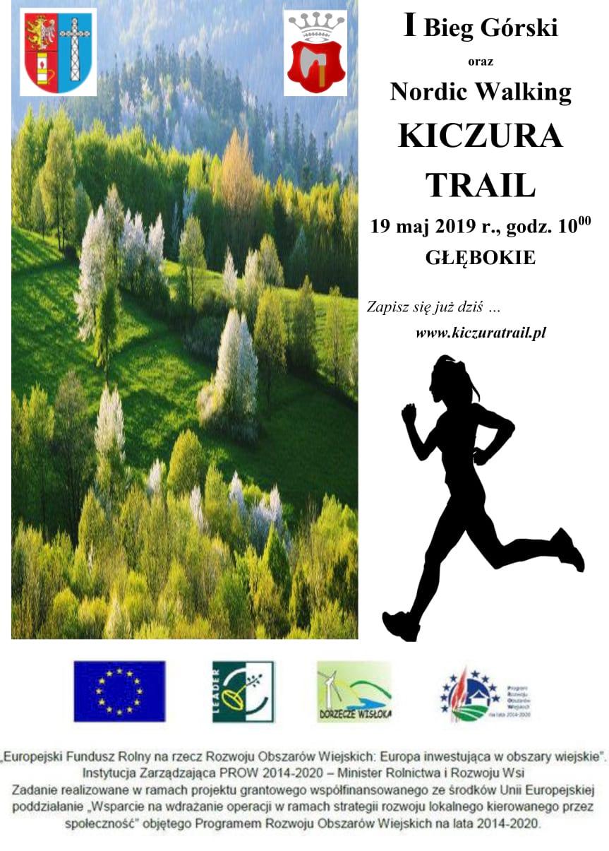 I Bieg Górski oraz Nordic Walking Kiczura Trail
