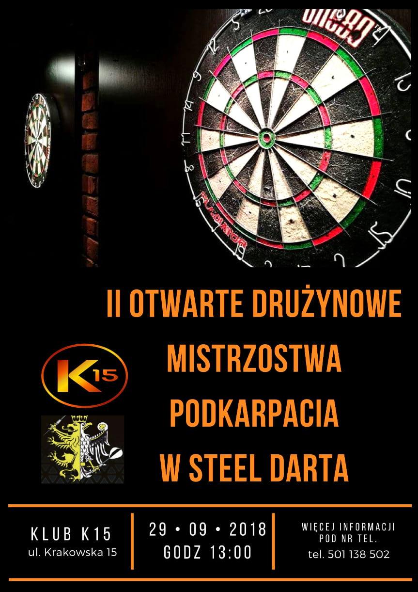 II Otwarte Drużynowe Mistrzostwa Podkarpacia w Steel darta