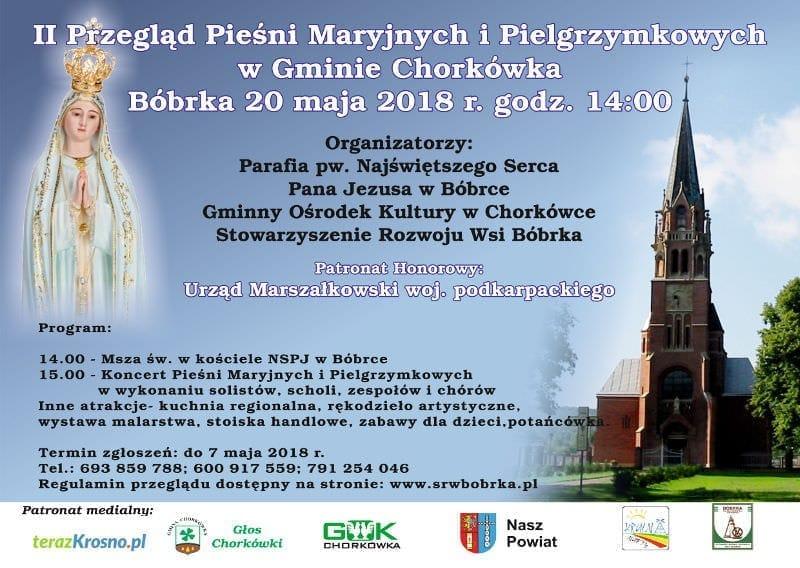 II Przegląd Pieśni Maryjnych i Pielgrzymkowych w Gminie Chorkówka