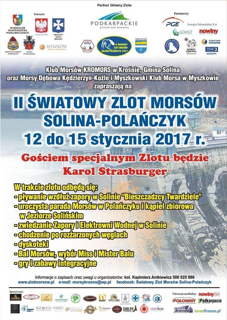 II Światowy Zlot Morsów Solina - Polańczyk