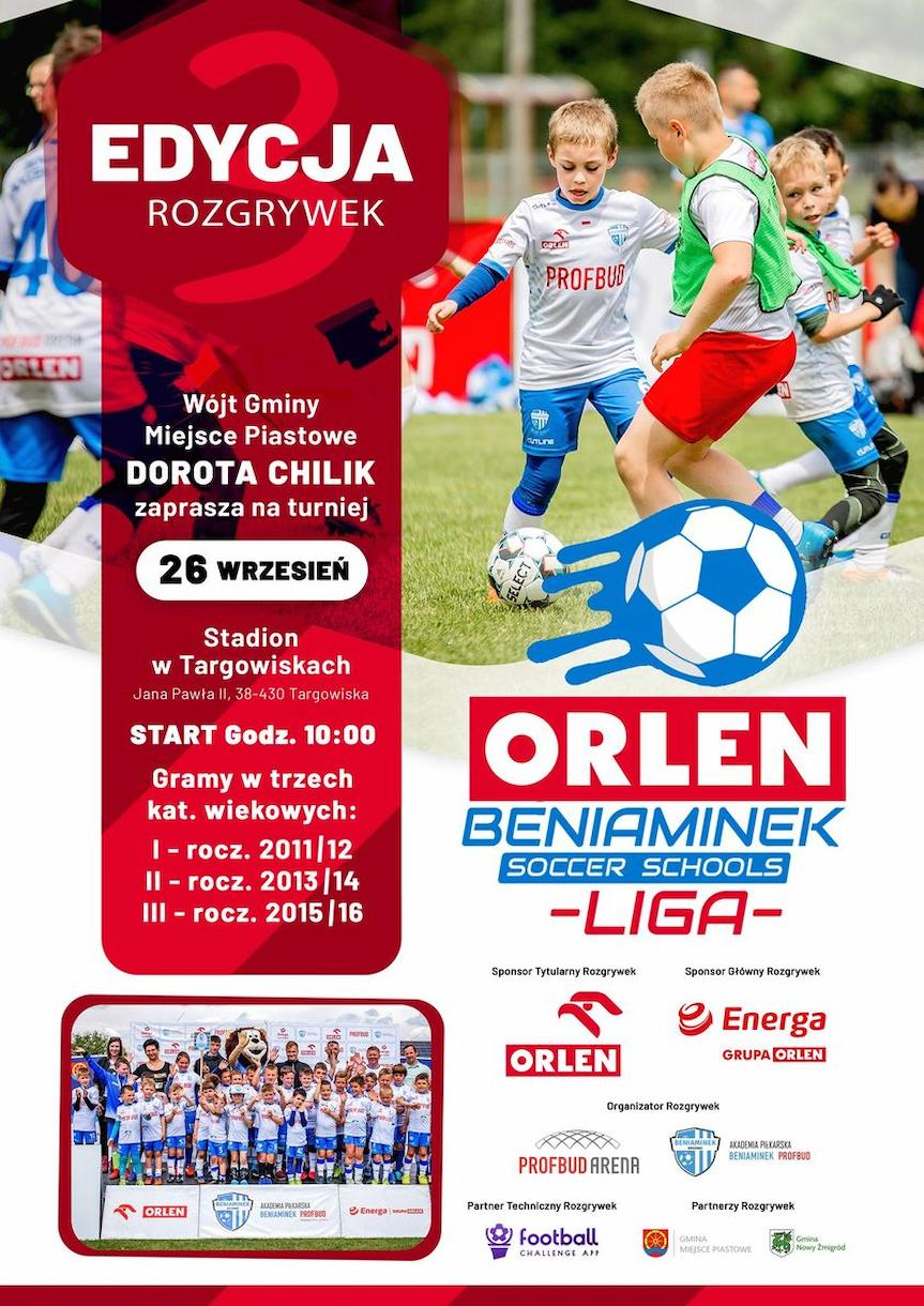 "III edycja ""ORLEN Beniaminek Soccer Schools Ligi"""