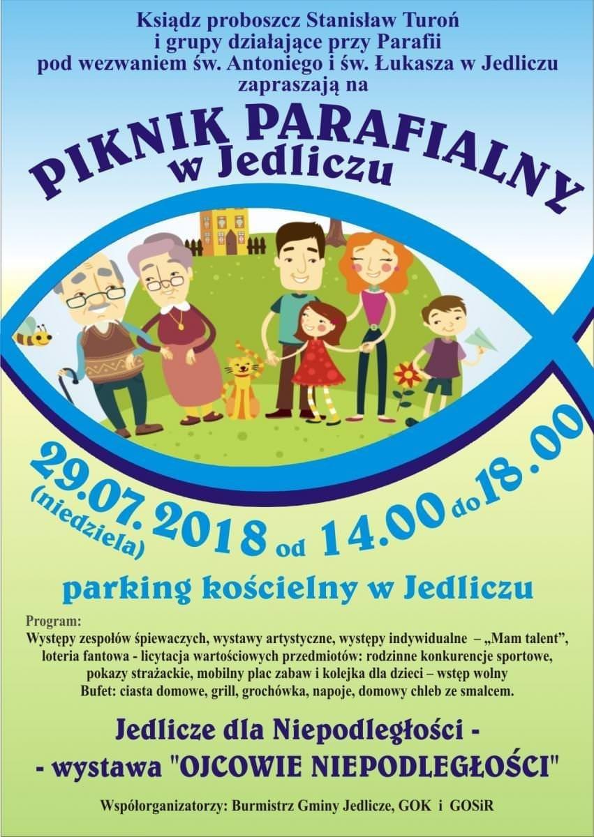III Piknik Parafialny w Jedliczu