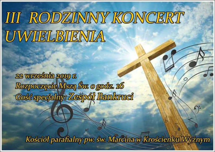 III Rodzinny Koncert Uwielbienia