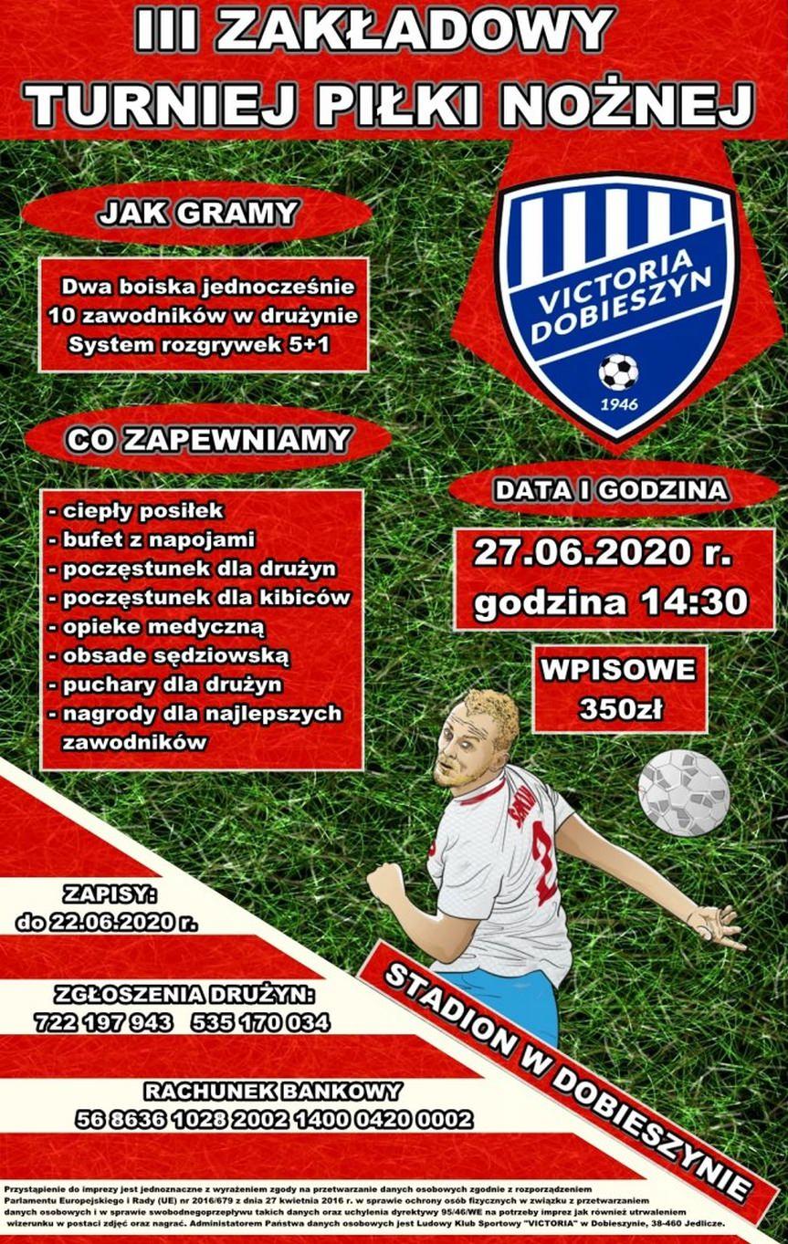 III Zakładowy Turniej Piłki Nożnej