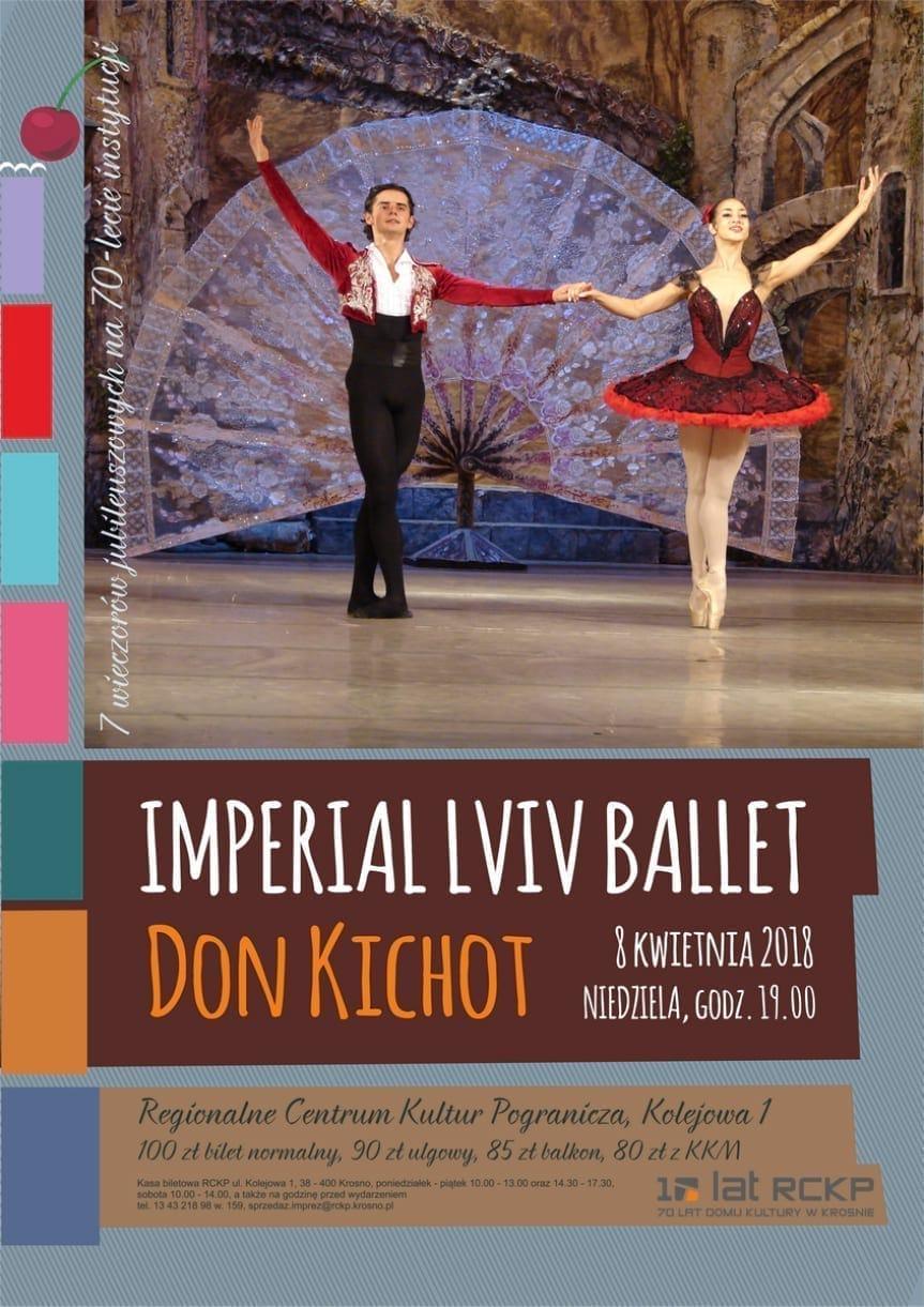 Imperial Lviv Ballet Don Kichot