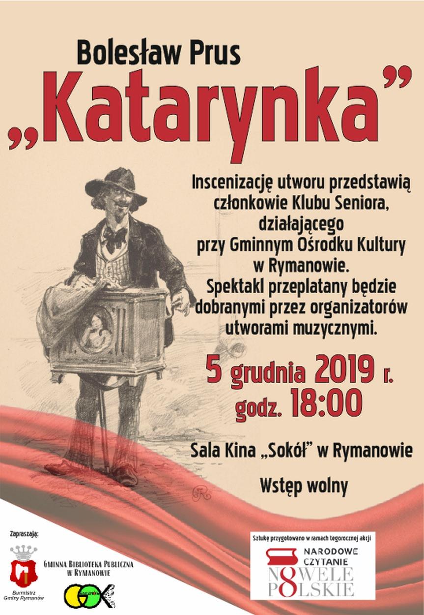 """Inscenizacja """"Katarynki"""" Bolesława Prusa"""