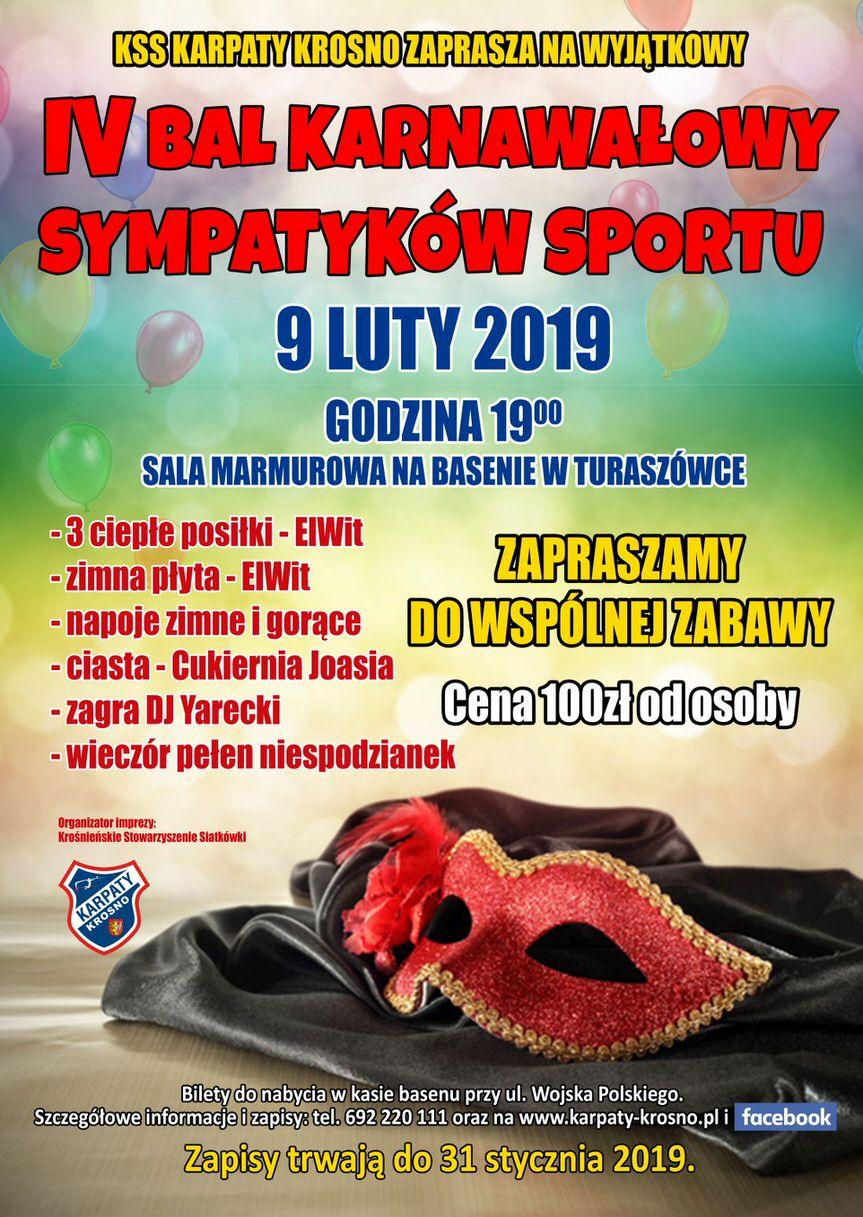 IV Bal Karnawałowy Sympatyków Sportu