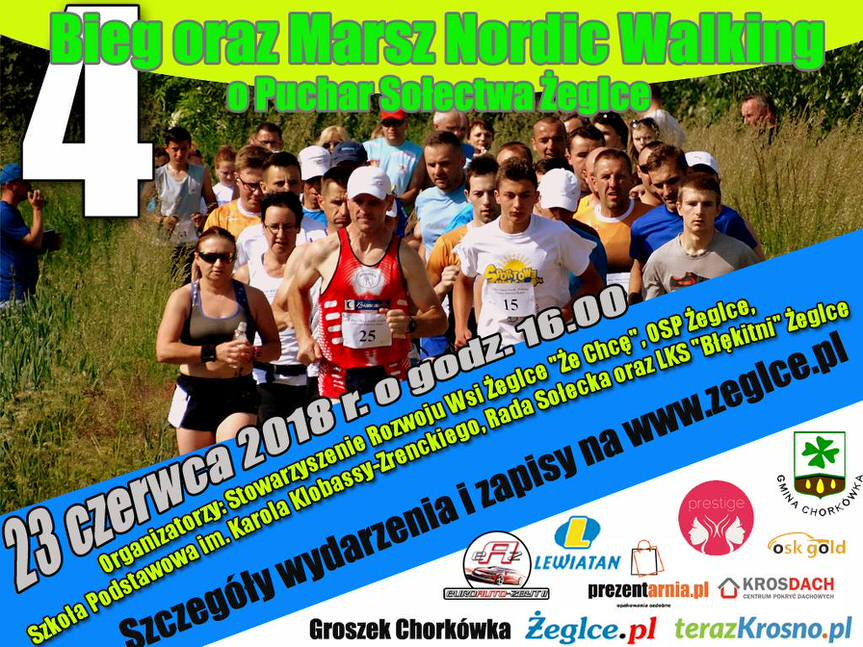IV Bieg & Marsz Nordic Walking o Puchar Sołectwa Żeglce