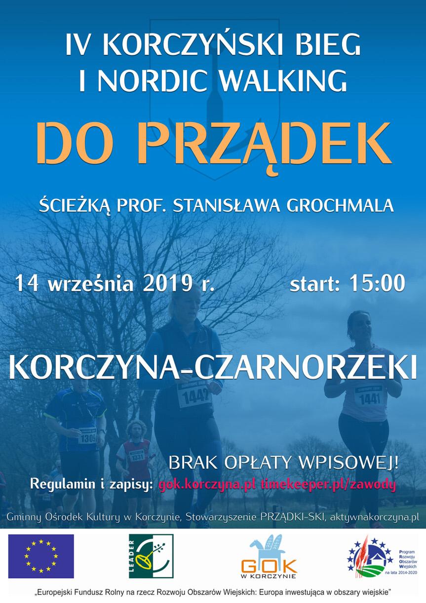 IV Korczyński Bieg i Nordic Walking