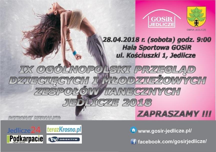 IX Ogólnopolski Przegląd Dziecięcych i Młodzieżowych Zespołów Tanecznych