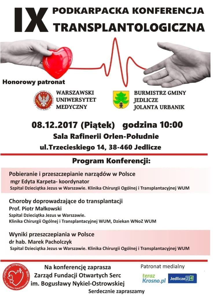 IX Podkarpacka Konferencja Transplantologiczna