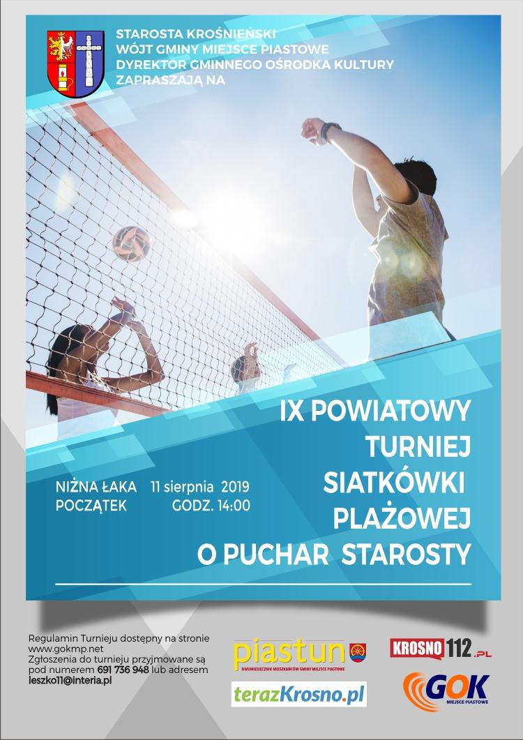IX Powiatowy Turniej Siatkówki Plażowej