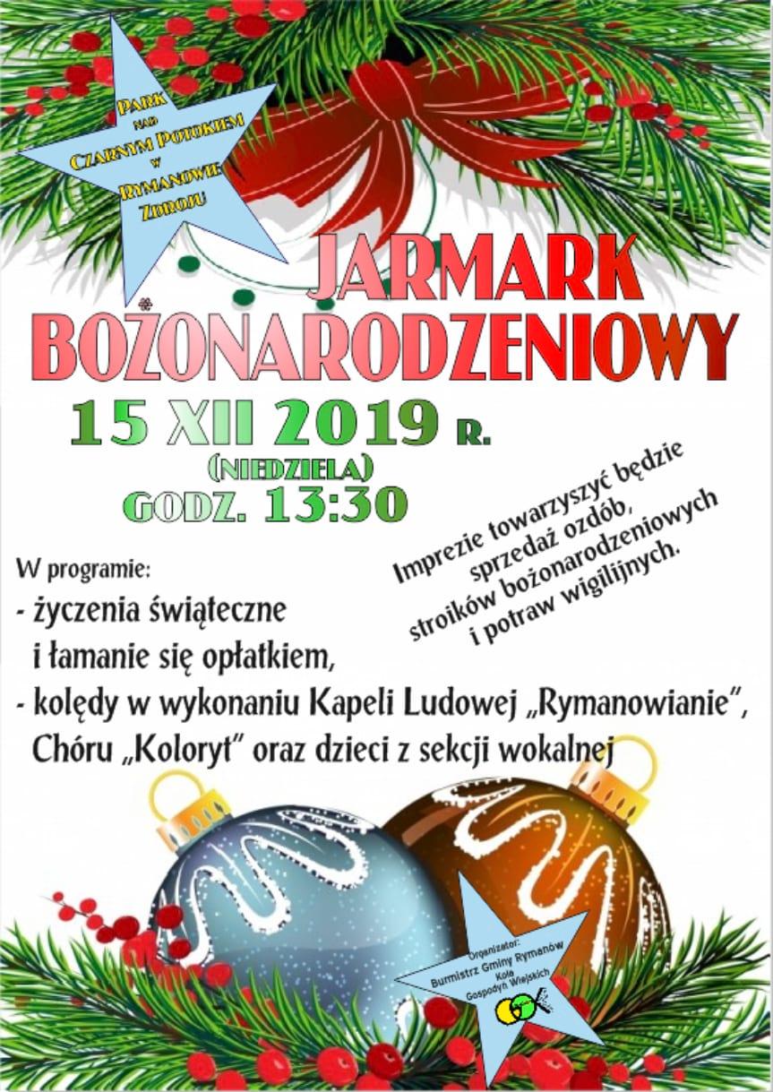 Jarmark Bożonarodzeniowy w Rymanowie-Zdroju