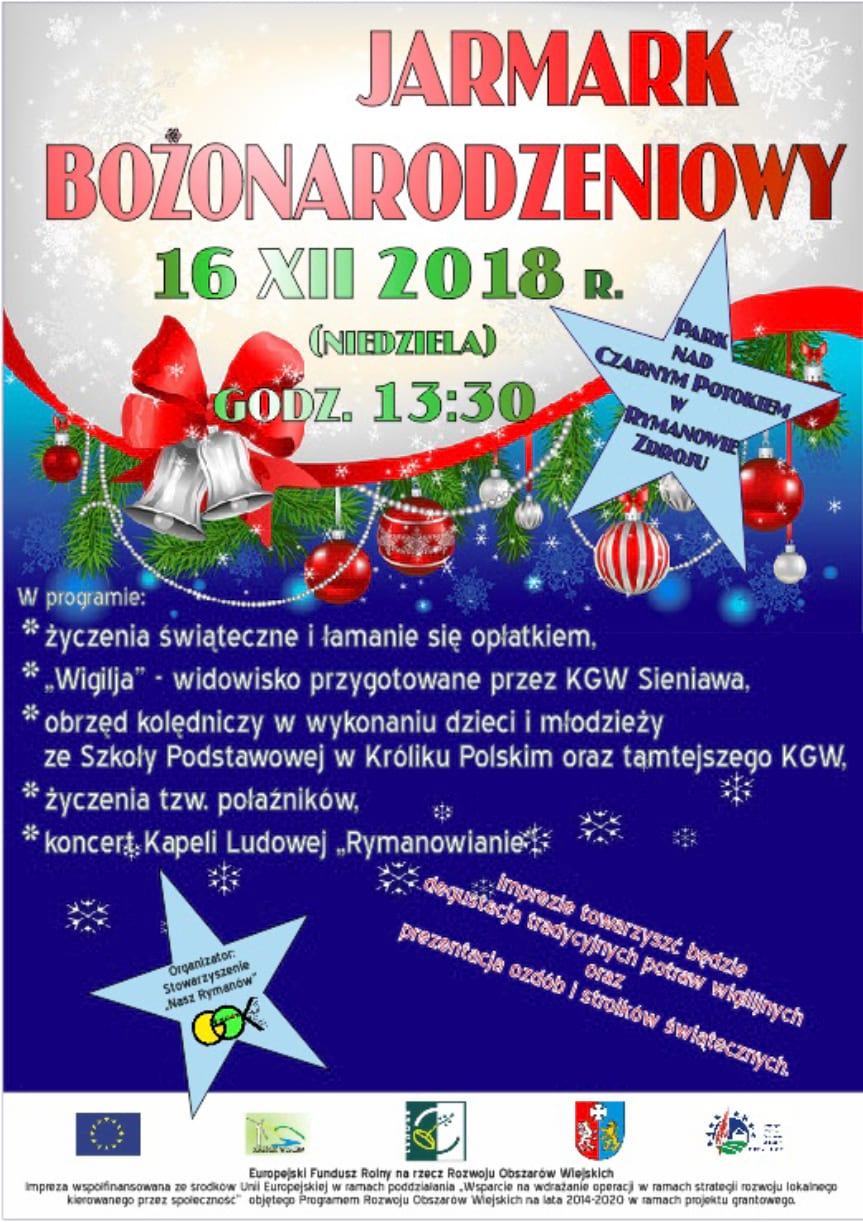 Jarmark Bożonarodzeniowy w Rymanowie Zdroju