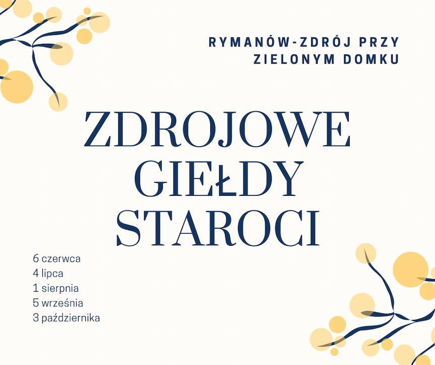 Jarmark Staroci i Rzemiosła Artystycznego w Rymanowie-Zdroju