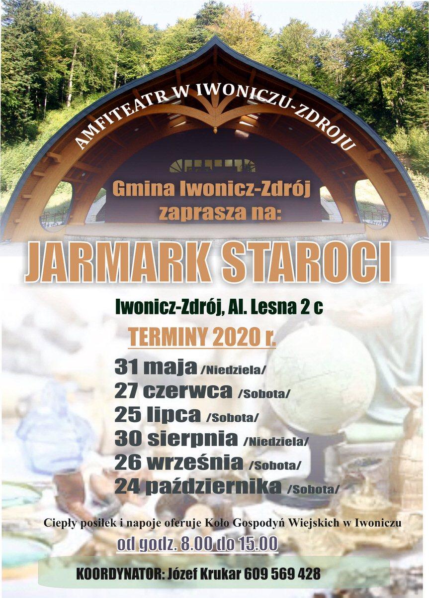 Jarmark Staroci w Iwoniczu-Zdroju
