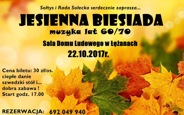 Jesienna Biesiada w Łężanach