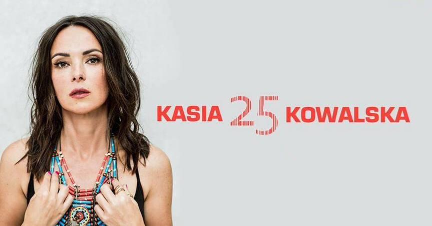 Kasia Kowalska z zespołem - koncert w Krośnie