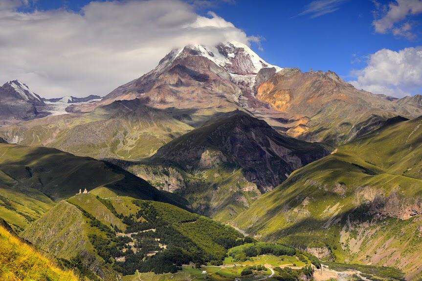 Kazbek i Elbrus - cała prawda o Kaukaskich Gigantach - Spotkanie podróżnicze