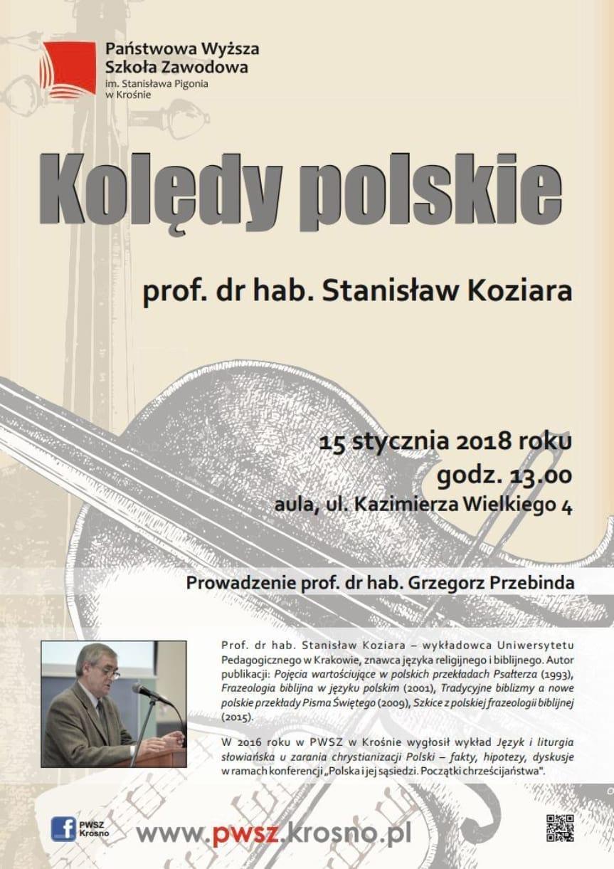 Kolędy polskie - prof. dr hab. Stanisław Koziera
