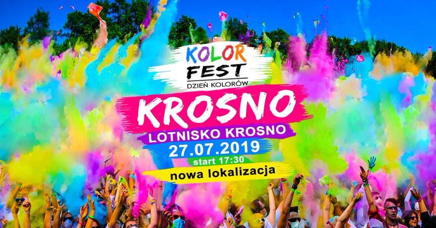 Kolor Fest Krosno - Dzień Kolorów Holi w Krośnie