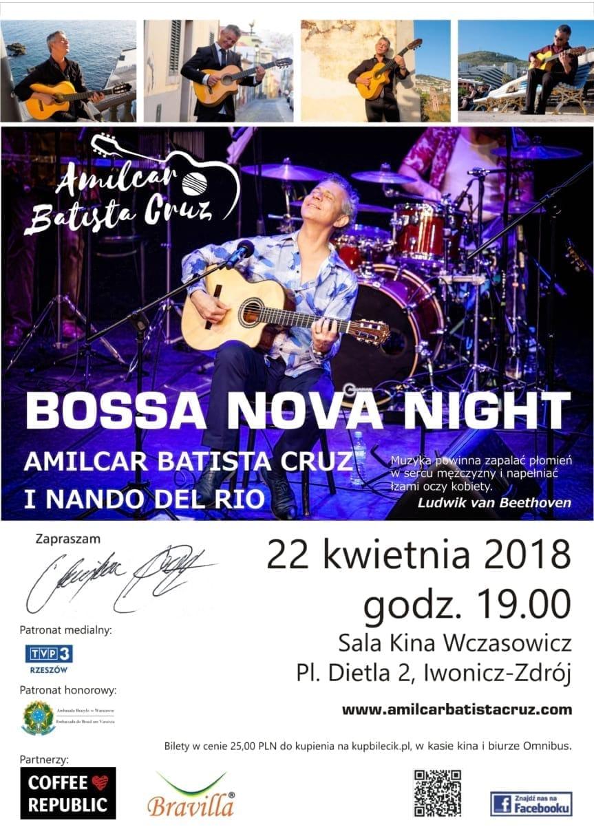 Koncert Bossa Nova Night, Amilcar Batista Cruz i Nando Del Rio