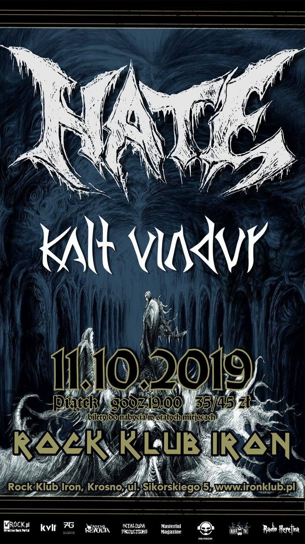 Koncert Hate & Kalt Vindur!
