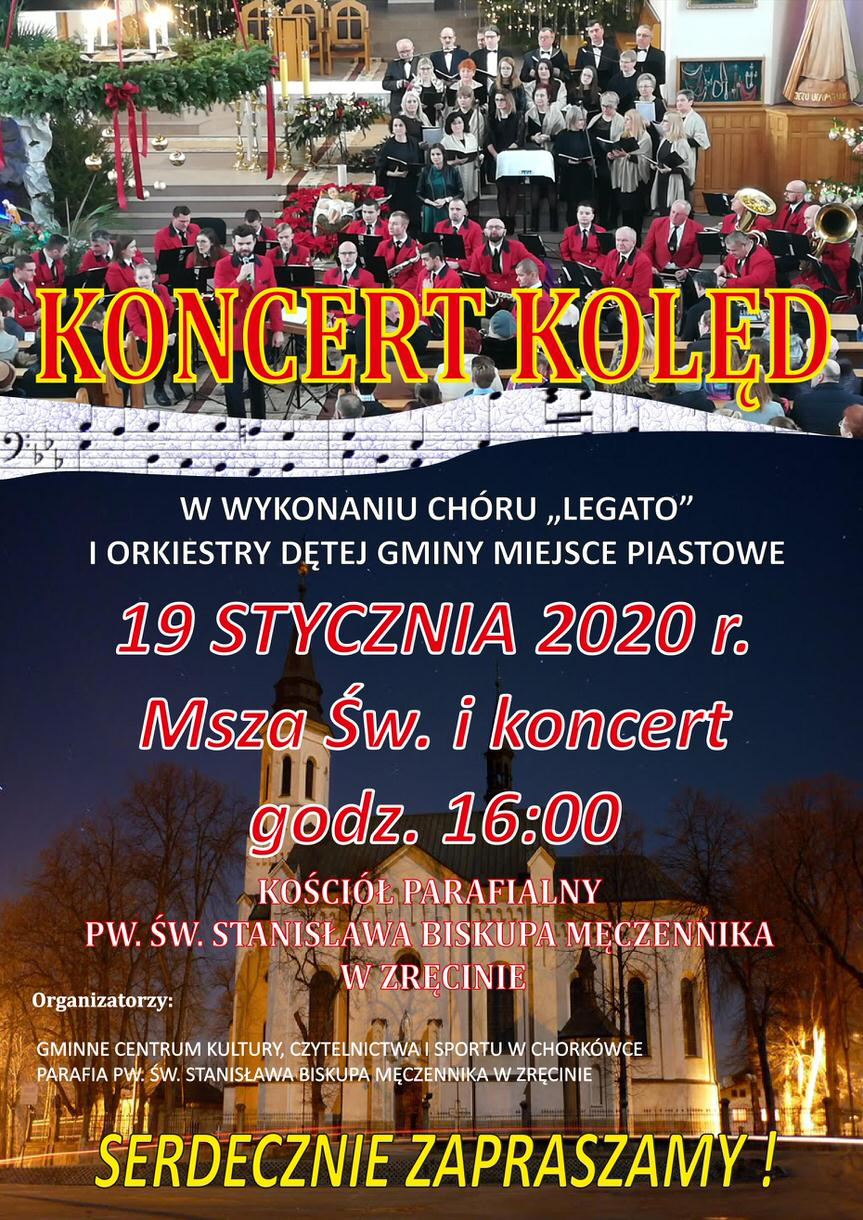 Koncert kolęd w Zręcinie