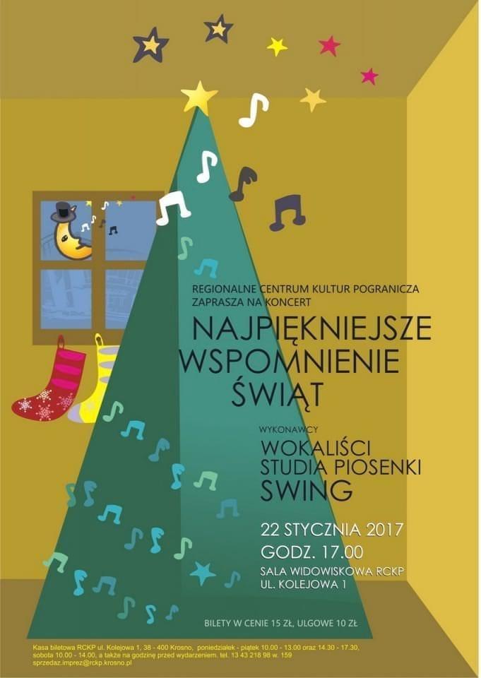 Koncert noworoczny Studia Piosenki Swing